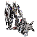 おもちゃ 合金 変形 ロボット BlackManBa The Planet Of Cybertron Edition BMB LS-01S Nitrogen