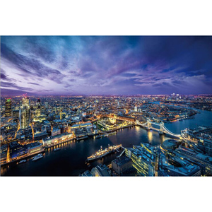 1000PCS 木製 パズル FF-76 The Nightscape of London 750mm×500mm