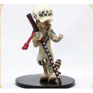 ONE PIECE  ワンピース  フィギュア 150mm PVC製 不可動 ヒョウ