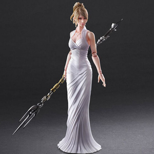 Final Fantasy 15 Lunafreya Nox Fleuret 280mm PVC製 塗装済み可動フィギュア