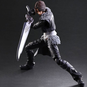 Final Fantasy 8 Squall Leonhart 280mm PVC製 塗装済み可動フィギュア