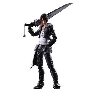 FINAL FANTASY Squall Leonhart 280mm PVC製 塗装済み可動フィギュア