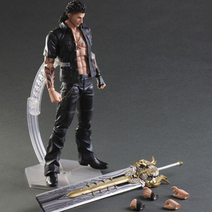 Final Fantasy Gladiolus Amicitia 280mm PVC製 塗装済み可動フィギュア